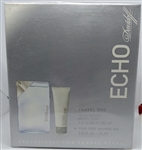 Echo by Davidoff Eau De Toilette Spray 2 Piece Set