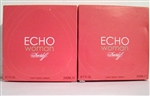 Echo Women By Davidoff Perfumed Light Body Cream 6.7oz 2 Pieces