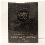 Jean Charles Brosseau Ombre Rose Body Lotion 6 oz