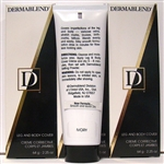 Dermablend Leg And Body Cover Color Ivory Crème Corrective 2.25oz 3 Pieces