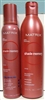 Matrix Shad Memory Vivid Reds Balancing System 2 Pack 13.5oz Conditioner 6.9oz Cool Mousse Conditioner