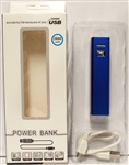 Portable Power Bank USB Charger Blue