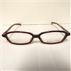 Ralph Lauren RL1382 Eyeglasses 0P1J Dark Red