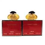 Anne Klein Perfume .125oz Parfum Mini 2 Pack
