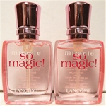Lancome Miracle So Magic Perfume .23oz Mini 2 Pack