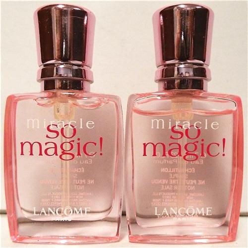 Lancome miracle so magic perfume 23oz mini 2 pack for Miracle magic bathroom
