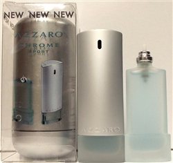 Azzaro Chrome Sport Cologne 1oz