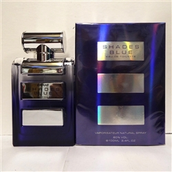 Armaf Shades Blue Eau De Toilette 3.4 oz For Men
