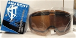 Anarchy Heist Replacement Goggle Lens Amber
