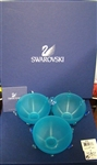 Swarovski Crystal Jewels Bowl Set Blue 697158