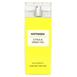 NoteBook Citrus & Green Tea for Him / Her Eau De Toilette Spray 3.4 oz