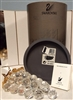 Swarovski Silver Crystal Crystal Bunch Of Grapes Collectible 11864