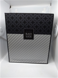 Black Suede By Avon For Men Cologne Spray 3.4 oz 3 Piece Set