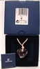 Swarovski Retired Rosaline Pink Heart Crystal Necklace 685706