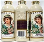 Potager Lavender Non Talc Powder 3.5oz 3 Pieces