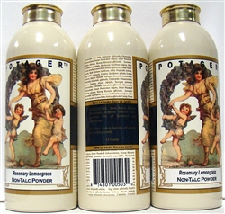 Potager Rosemary Lemongrass Non Talc Powder 3.5oz 3 Pieces