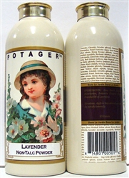 Potager Lavender Non Talc Powder 3.5oz 2 Pieces