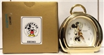 Vintage Seiko Mickey & Co. Quartz Mini Mouse Clock QFD216G
