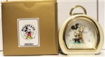 Vintage Seiko Mickey & Co. Quartz Mini Mouse Clock QFD216W