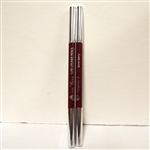 Von Berg Luxe Lipliner Pencil Wine Berry .037oz 2 Pack