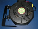 Retractable XLR Microphone Audio Cable Reel 25 foot by Lightcast