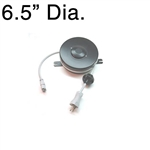D200911-1 Medical Retractable Cable Reel - Black