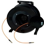 Camplex TAC1 Simplex 1-Channel OM1 Multimode LC Fiber Optic Tactical Cable Reel 1000 Foot HF-TR1M1-LC-1000