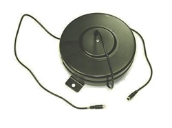 s video video retractable extension extender vga cable reel 40' foot Monitor Projector Extension Cable  cord line