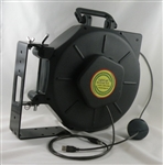 Retractable USB 2.0 Cable Cord Reel 25' by Lightcast Networks