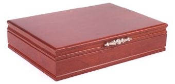 Solid Wood Cherry Traditionals Flatware Chest