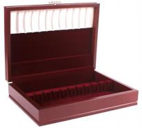 Solid Wood Mahogany Traditional Flatware Chest