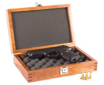Locking Solid Wood Gun Chest
