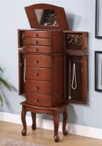 7 Drawer Large Jewelry Armoire