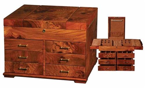Luxury Jewelry Box Limited Edition Heirloom