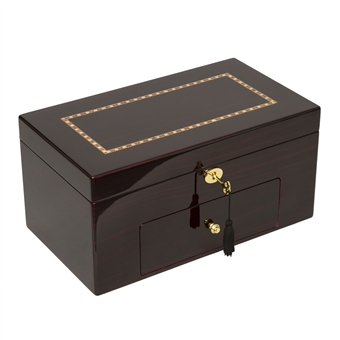 20 Watch Wooden Watch Box with Drawer and Inlay