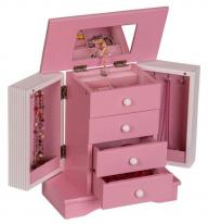 Girls Twirling Ballerina Jewelry Box Plays Swan Lake