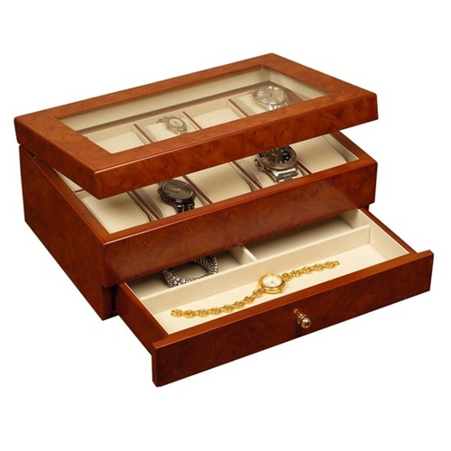 Watch Jewelry Case Multiple Watches
