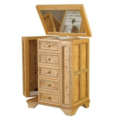 Jewelry Box Armoire Tall