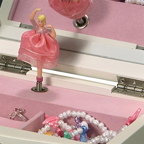 Dancing Ballerina Music Jewelry Box Waltz of the Flowers