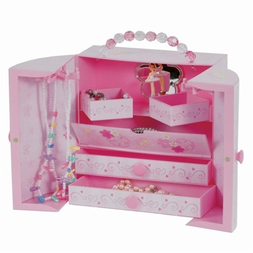 Pink Musical Ballerina Box