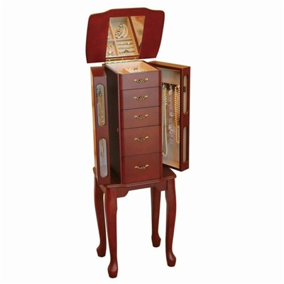 Armoire Jewelry Box Cherry Jewelry Armoire
