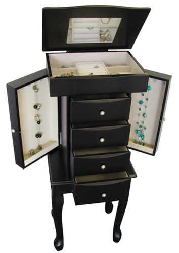 Java Jewelry Armoire
