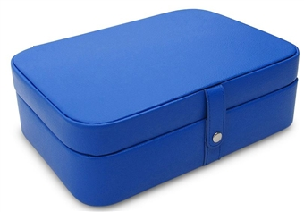 Leather Jewelry Storage Box and Travel Case. 5 Stylish Colors. Morelle Kimberly