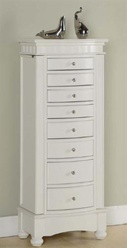 Floor Standing Jewelry Box Cabinet