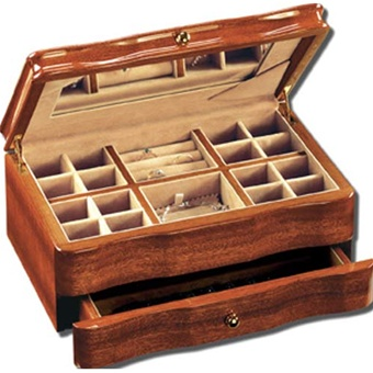 Best Selling Jewelry Box  Mahogany Wood Chest  RaGar 104MNNG