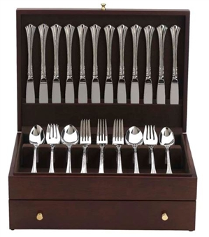Mahogany Flatware Chest