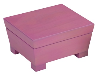 Pink Jewelry Box for Little Girls  Anna by Reed and Barton 201AW