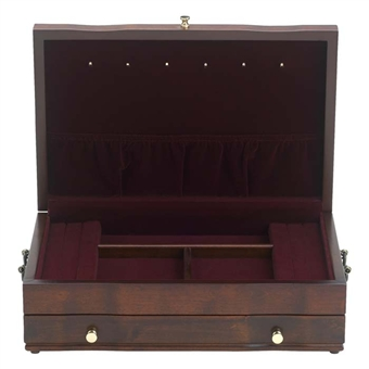 Mahogany Jewelry Chest, Reed and Barton, Duchess II 662mr