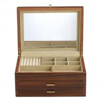Rosewood Jewelry Box Chest, Reed and Barton 903r