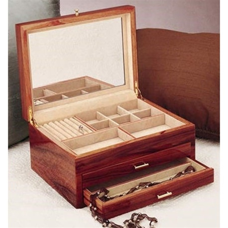 Rosewood Jewelry Box Chest